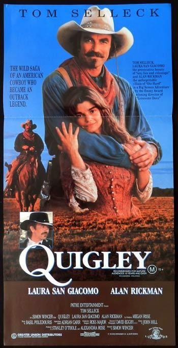 Tom Selleck Quigley Down Under   Quigley (1990) Quigley Down Under (original title) Western   Adventure ...
