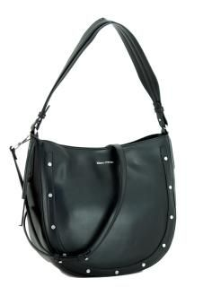 Marc O'Polo Hobo Bag Madelyn Black schwarz Nietendekor