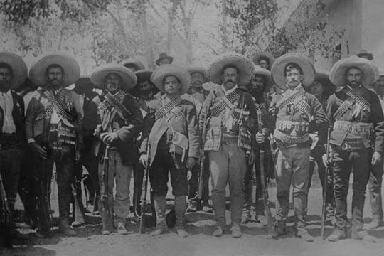 Pancho Villa Staff Revolucion De Mexico Revolucion Mexicana Imagenes De Revolucion Mexicana