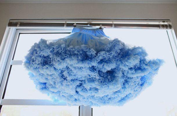 Blue jupon