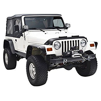 E Autogrilles Flat Style Front Rear Fender Flares With Side Led