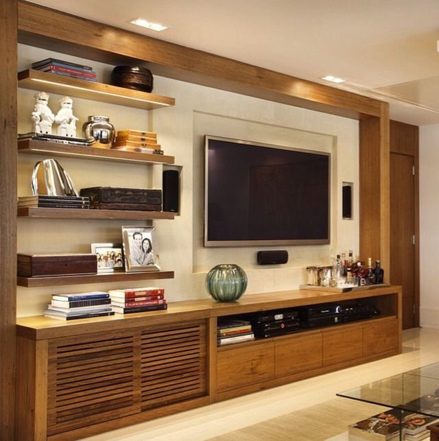 Pin By Bernadette Catibog On Porta Tv Living Room Tv Unit Family Room Design Living Room Tv