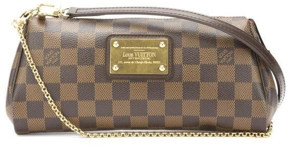 Louis Vuitton Damier Ebene Eva Bag (Pre Owned) Louis Vuitton Damier f9f6f6991