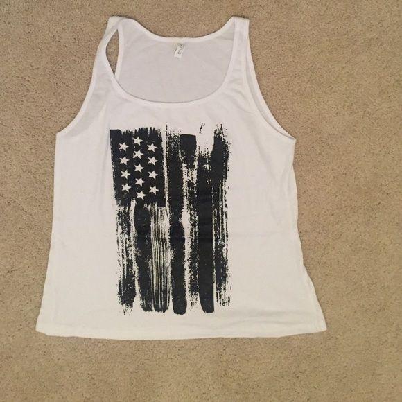 Custom shirt from East Bureau Custom Flag Tee Tops Tank Tops