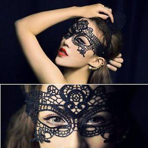 Vintage Black Sexy Elegant Eye Face Mask Venetian Masquerade Ball ...