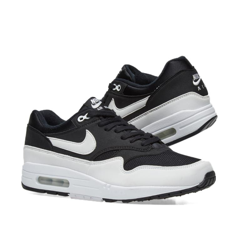 3f5166b1f61a8 Nike Air Max 1 W Black   White 7