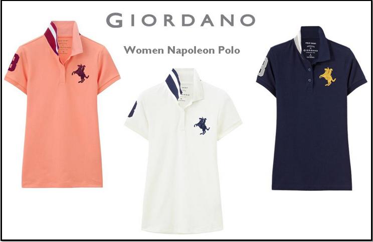 4a9b1ed3d69e6 Giordano Women s Polo تي شرت بولو نسائي Polo Shirt