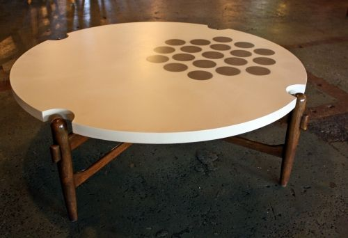 cool pattern on the table