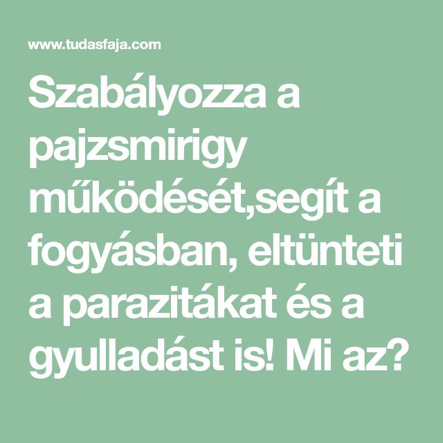 pajzsmirigy paraziták)
