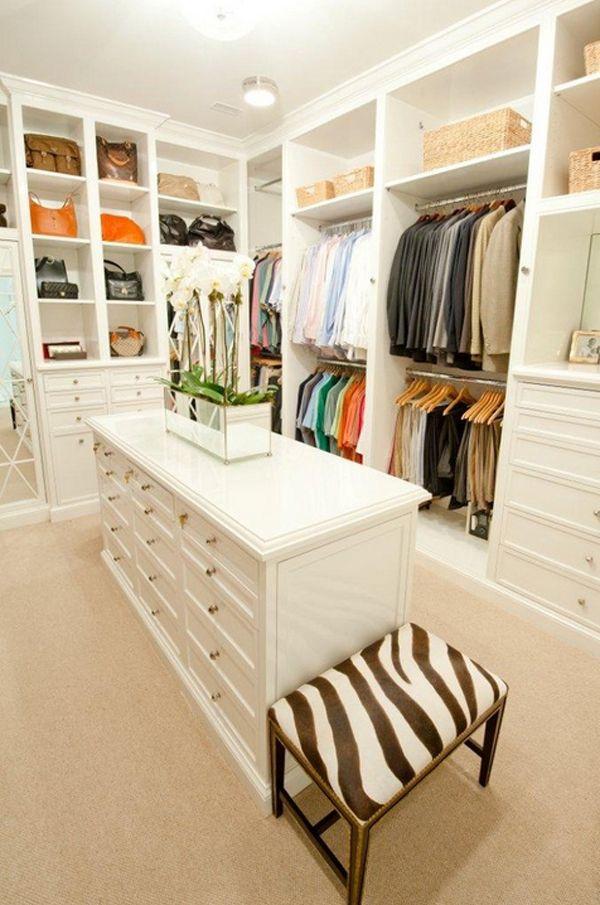become more organized with a walk in wardrobe | interior design