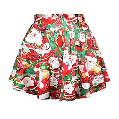 Frauendruck Art und Weise dünnen Röcke – EUR € 14.99