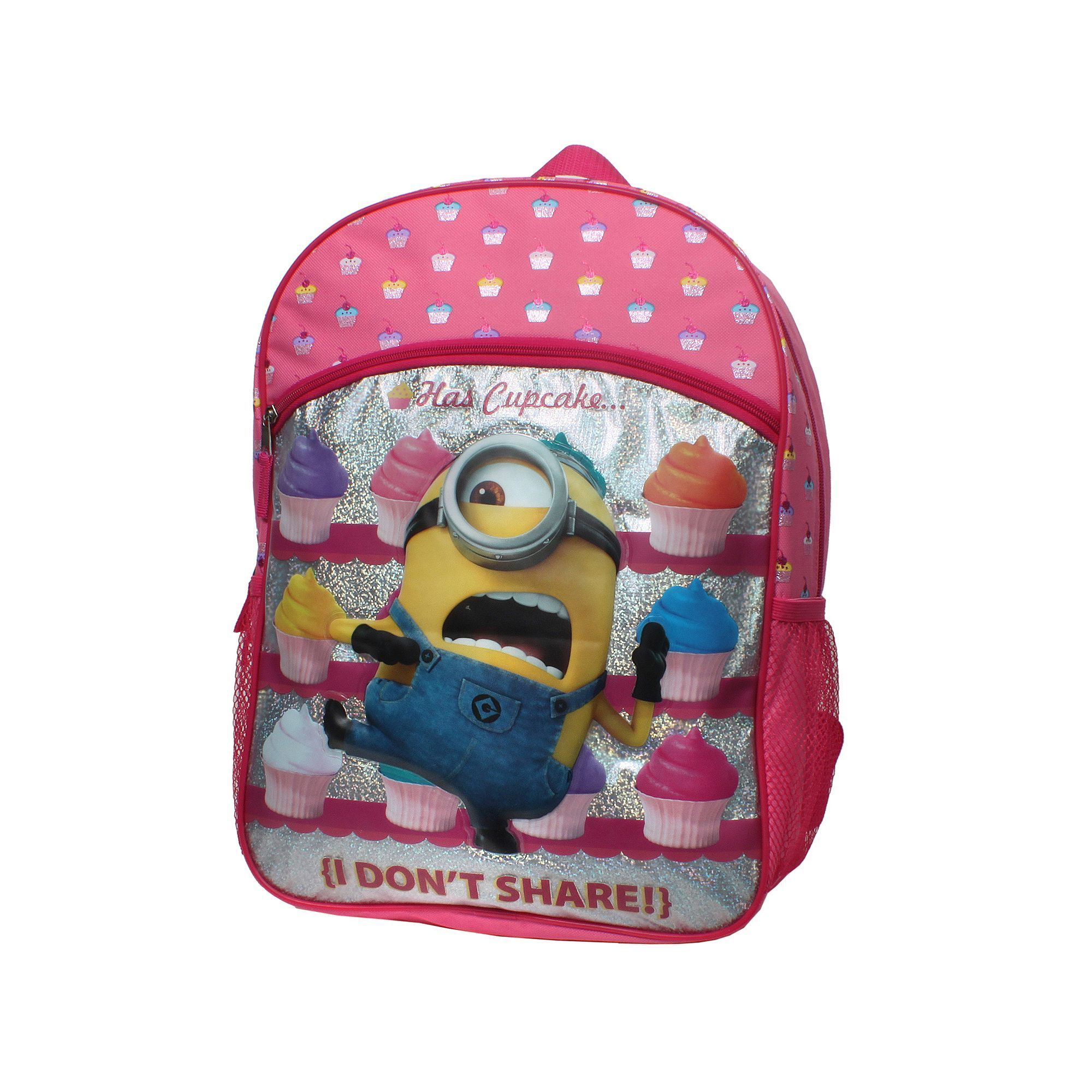 Kids Despicable Me Minions Cupcake Backpack  5985d6901811e