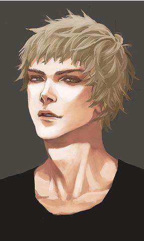 Blond Hair Portraits Male Minus Portrait Fantasy Art