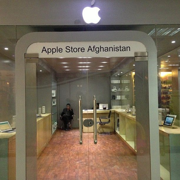 The unofficial Apple store in Afghanistan - Quartz