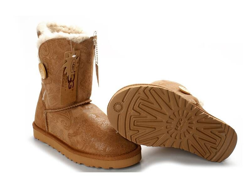 5809 Chestnut Fancy Bailey Button Ugg Boots 61