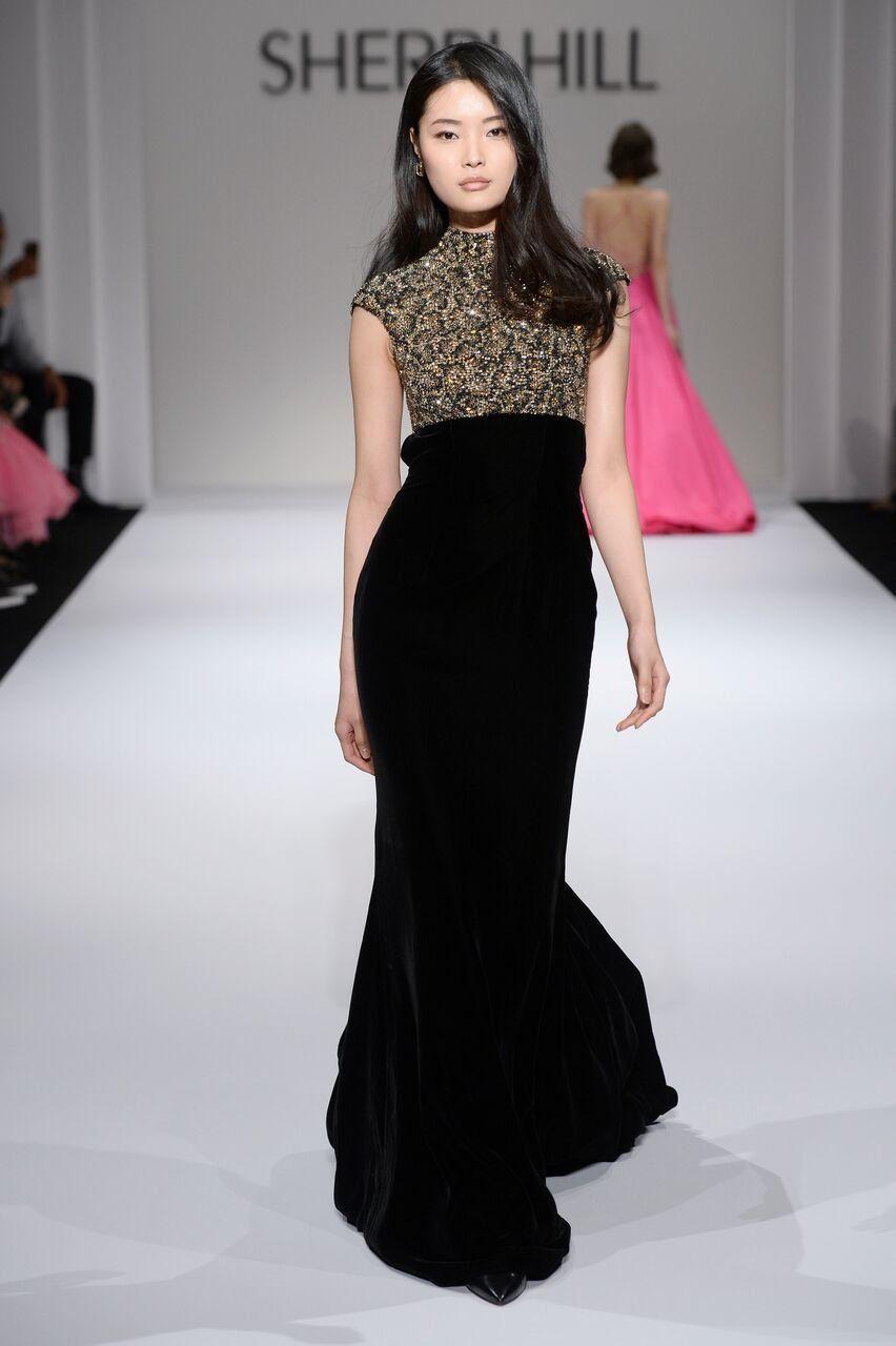81585cf6ba7e New York Fashion Week - Fall 2018 - Sherri Hill   Sherri hill in ...
