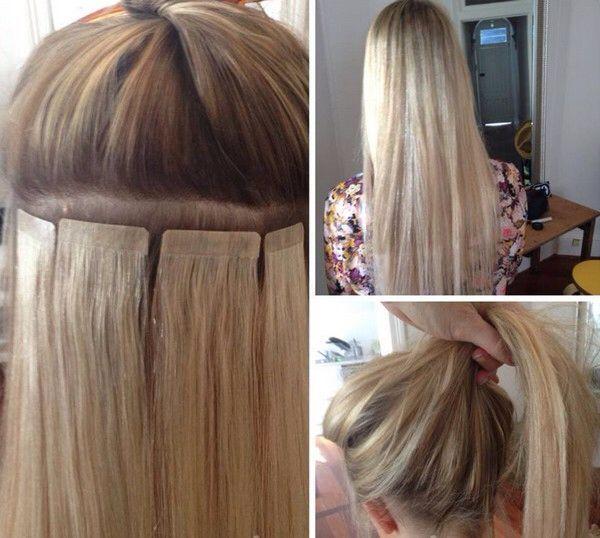 Kapello Pre Tape Hair Extensions Taunton Somerset 07715945559 Tape