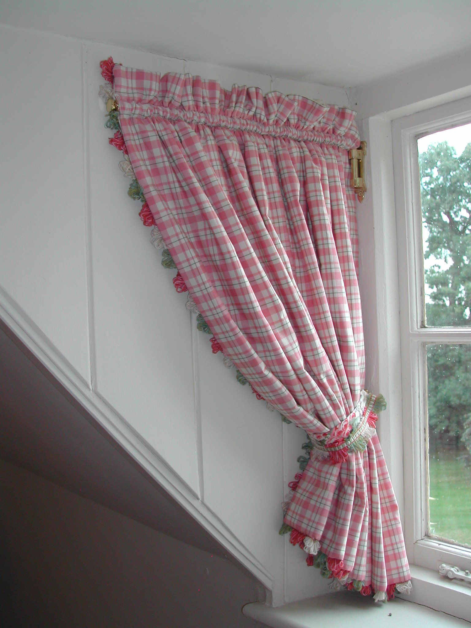 Curtains On A Swing Arm For Dormer Window Inspirations