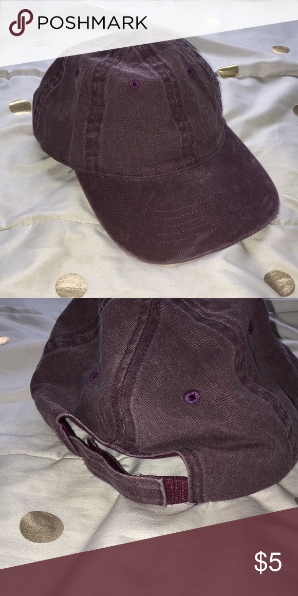 e6bc6c4f1ff983 💓Vintage Dad Hat 💓 faded maroon color (was bought like this) never worn
