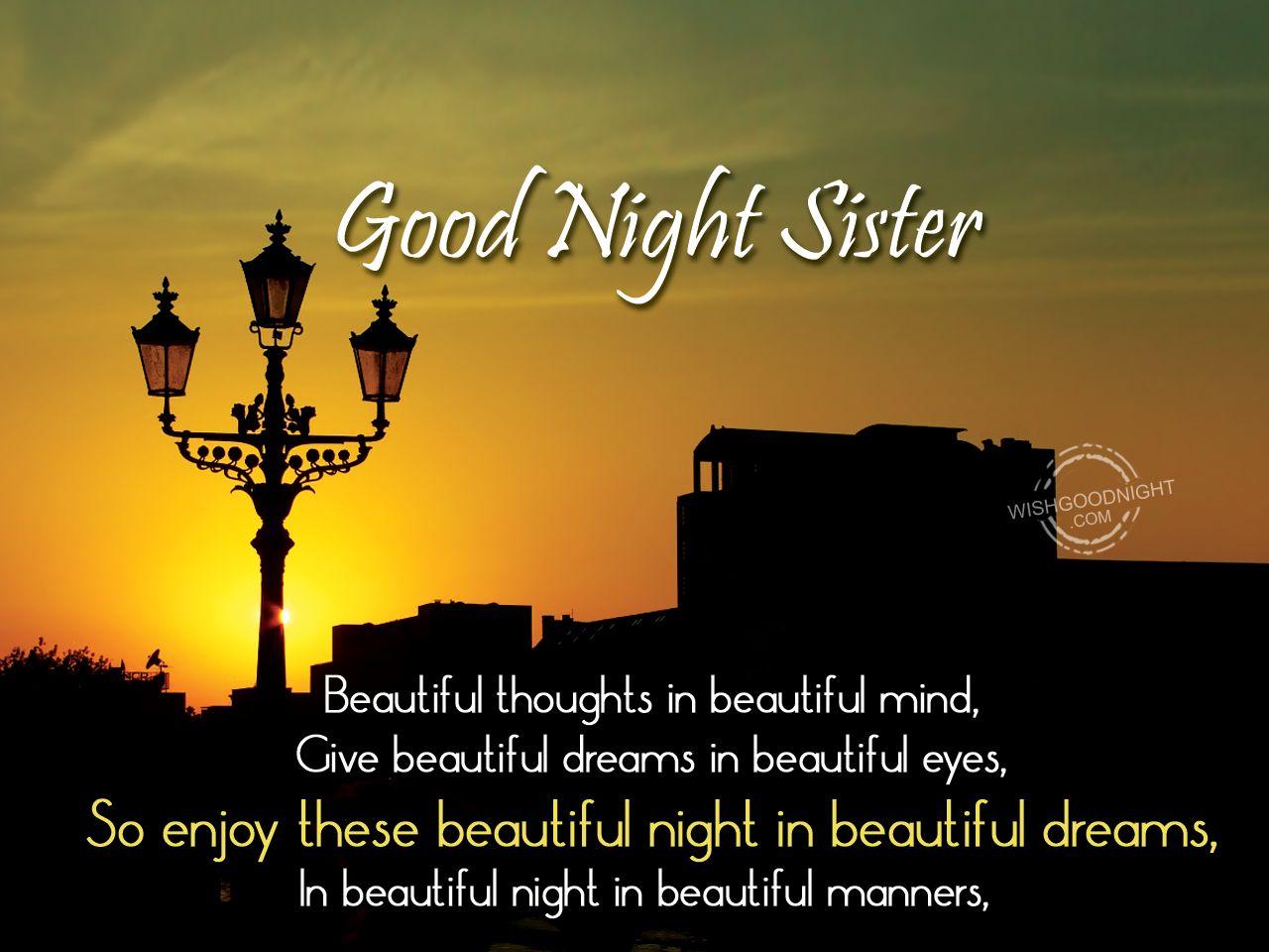 Good Night Sister Images Good Night Good Night Good Night Image