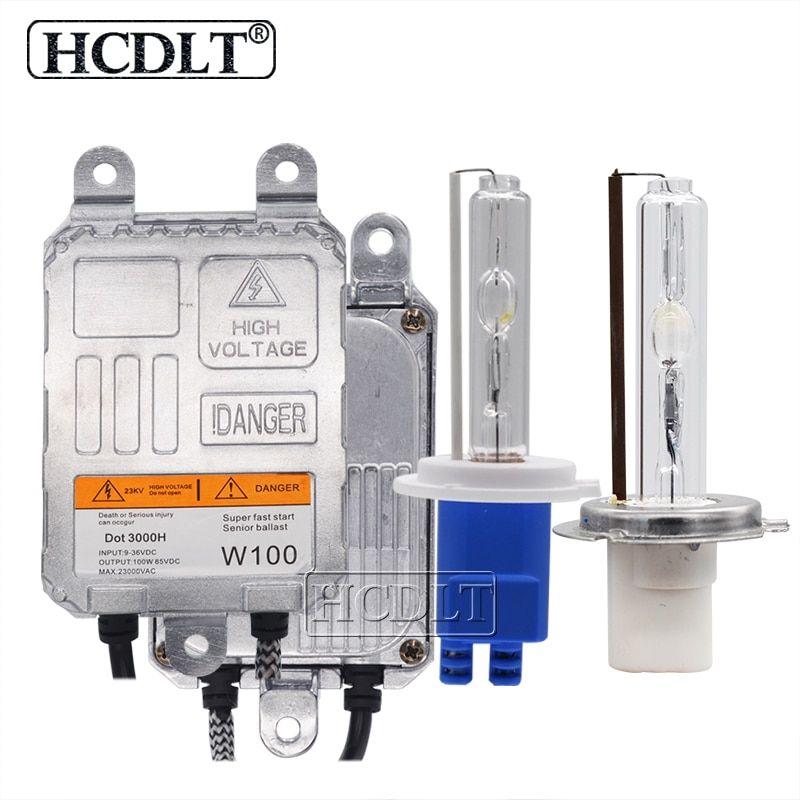 Hcdlt 100w Xenon H7 Hid Kit H1 H3 Hb3 Hb4 H11 Xenon Bulb Lamp 4300k 8000k 6000k 100w Hid Ball