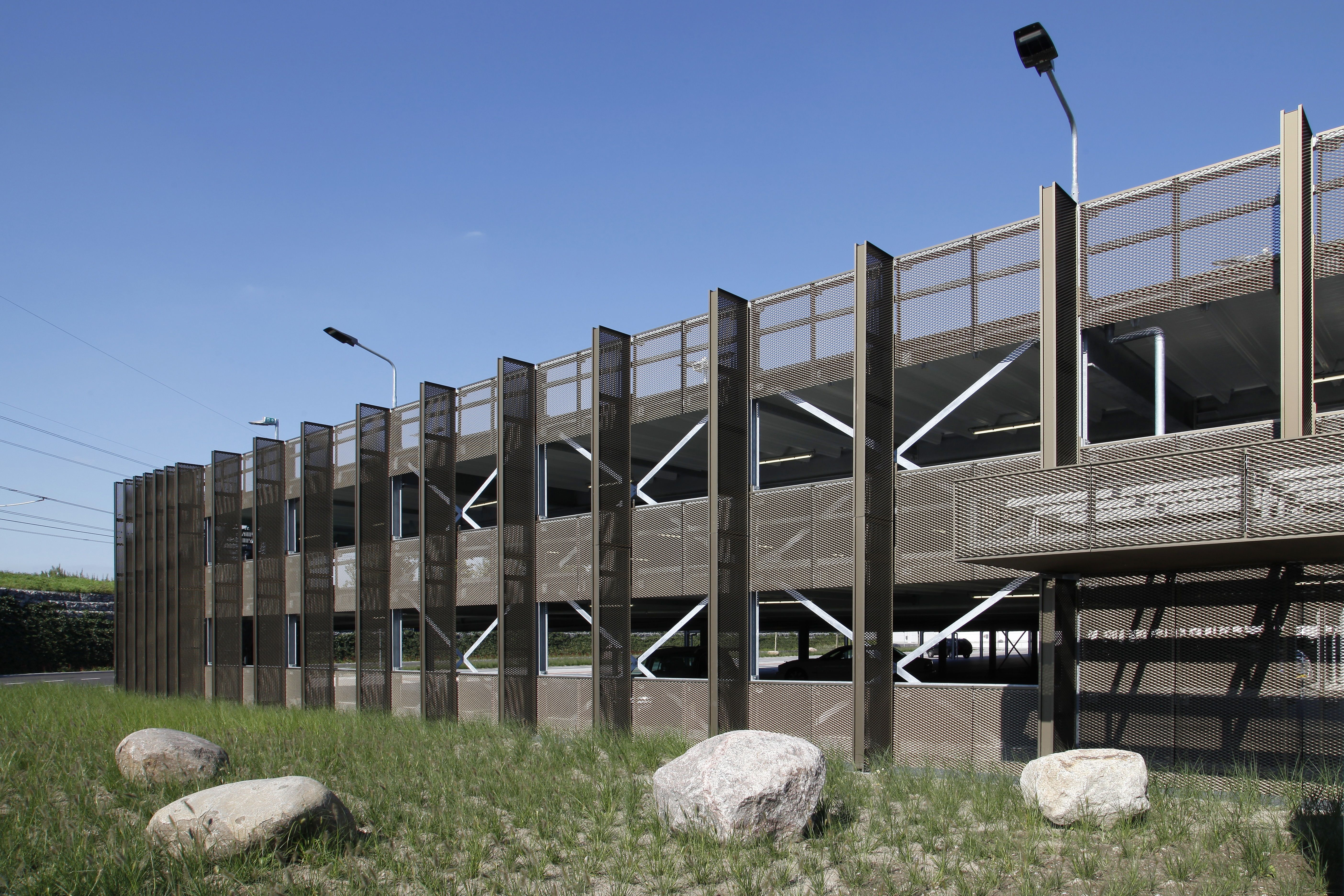 Parkeergarage Fashion Outlet In Roosendaal Metadecor Gevel Trappen Architecten