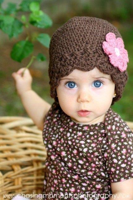 Gorros tejidos para nena - Imagui