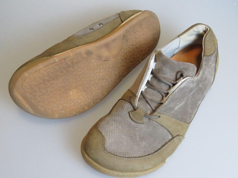 0ffc444ecac4 FOOTPRINTS Birkenstock Tan Beige Suede Leather Lace Up Shoes Men s EU 43 US  10  FootPrints  oxfords
