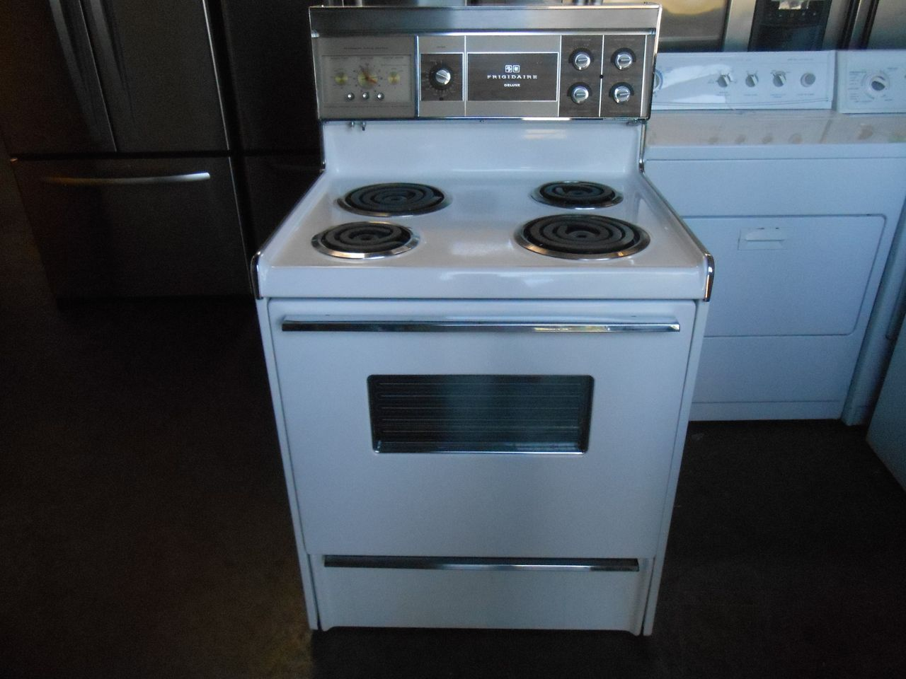 Pin by Appliance City on VINTAGE FRIGIDAIRE DELUXE 30 INCH FREE ...