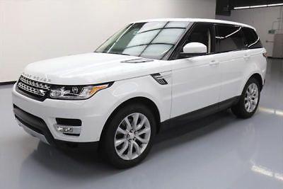 2014 Land Rover Range Rover Sport Hse Sport Utility 4 Door Range Rover Land Rover Range Rover Sport