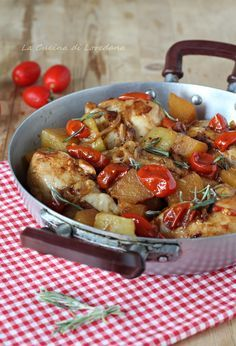 Photo of Stir-fried chicken and potatoes – Very tender and tasty
