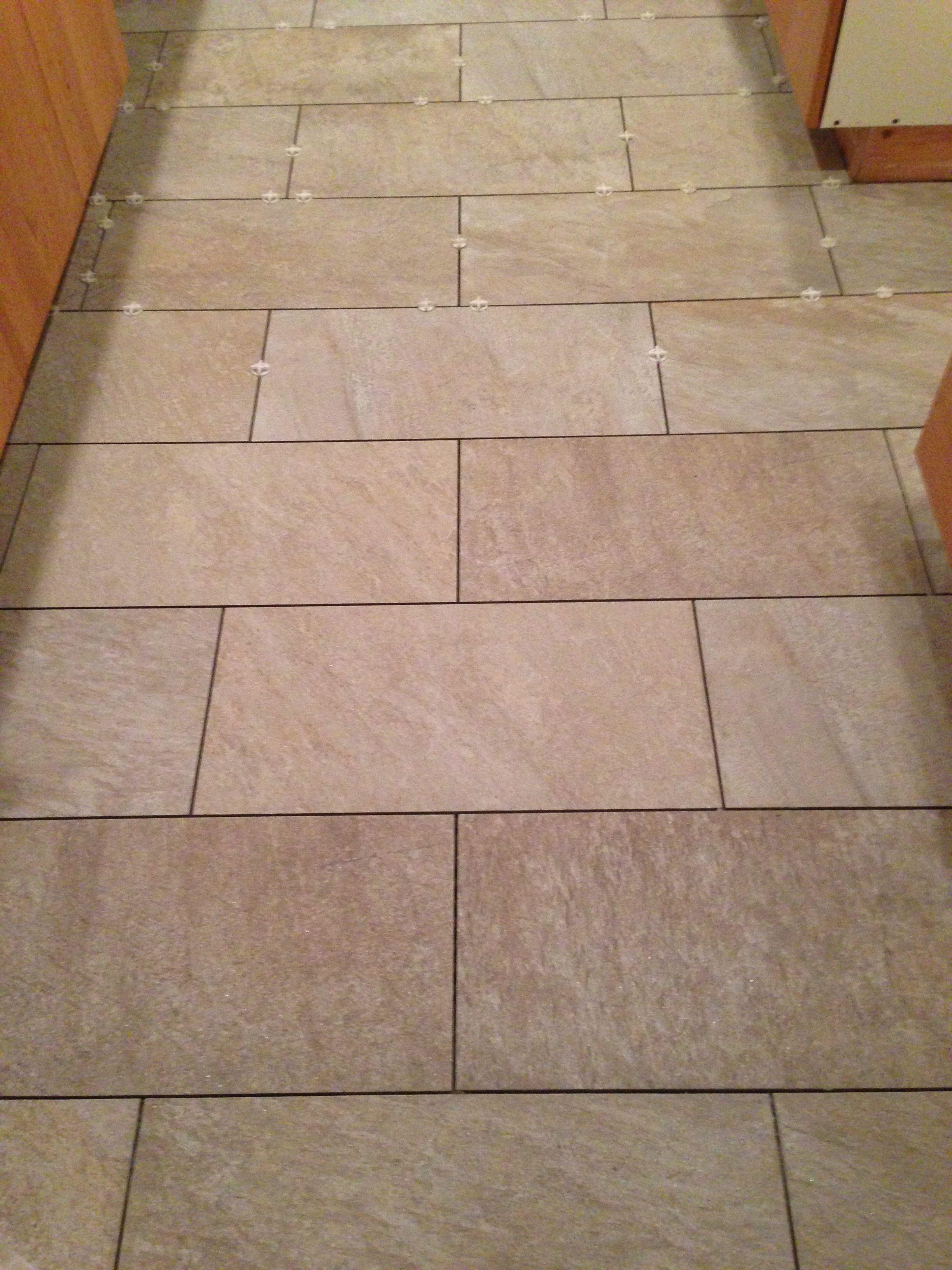 pental anthology grey indoor 12x24 tile kitchen floor mix of grey