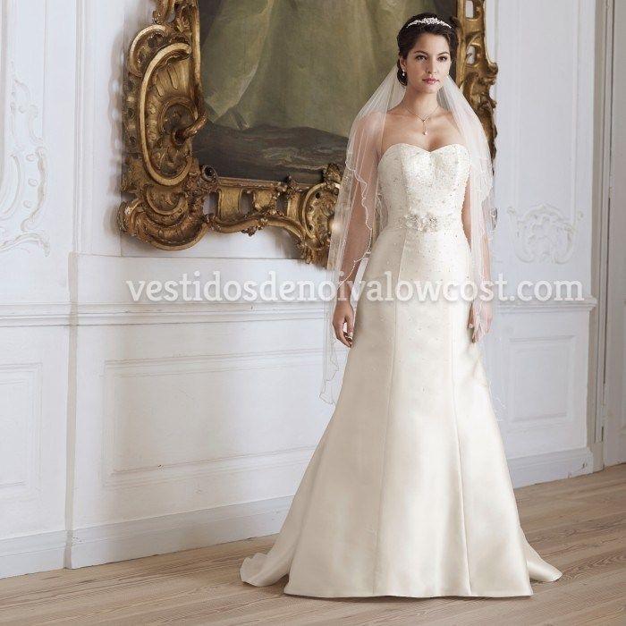 """Vestido de Noiva """"Mikado"""" Fantástico"""