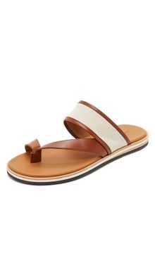 Leather slippers for men, Mens sandals