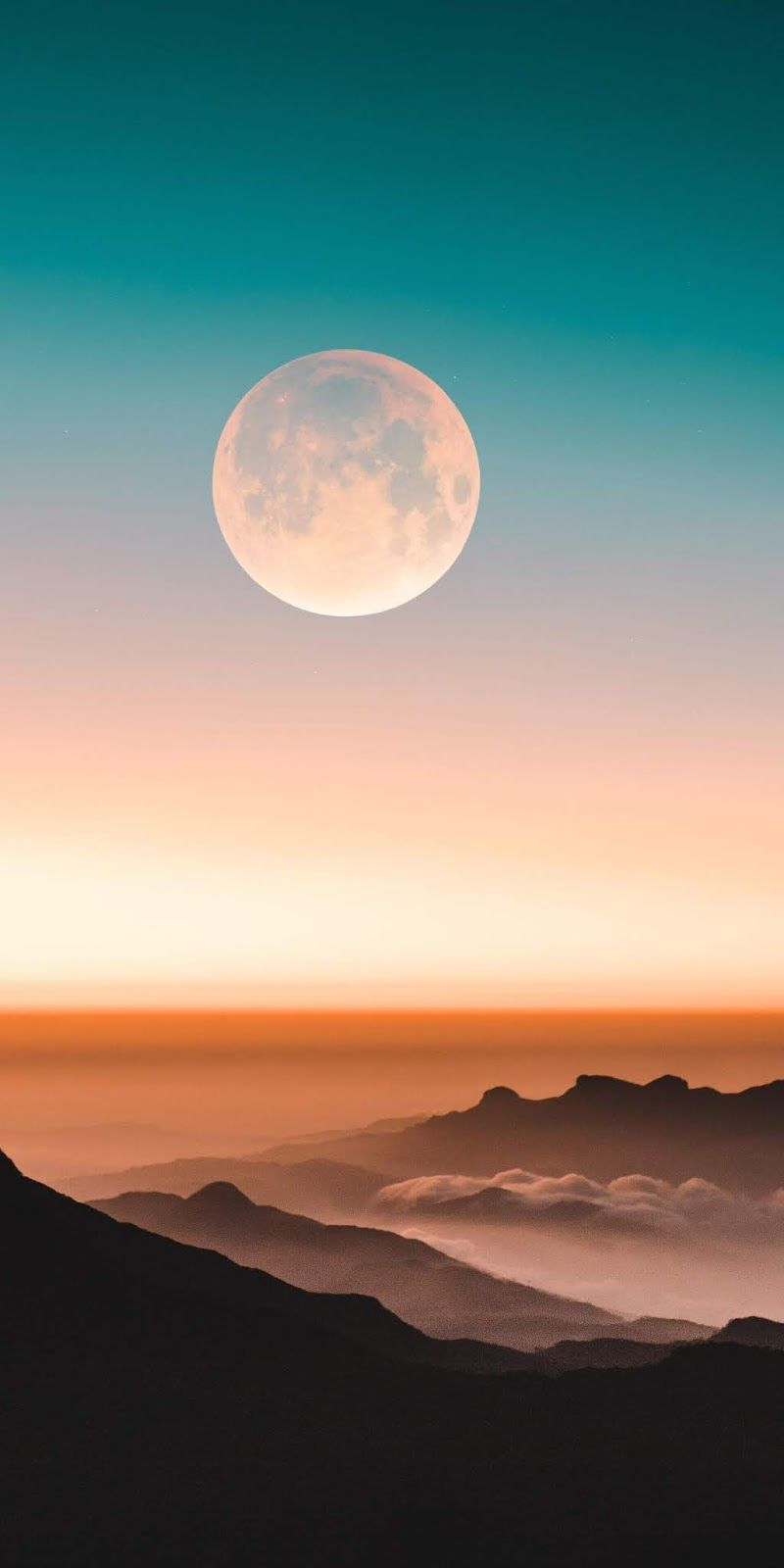 Full Moon Wallpaper Iphone Android Background Followme Scenic Wallpaper Beautiful Wallpapers Cellphone Wallpaper