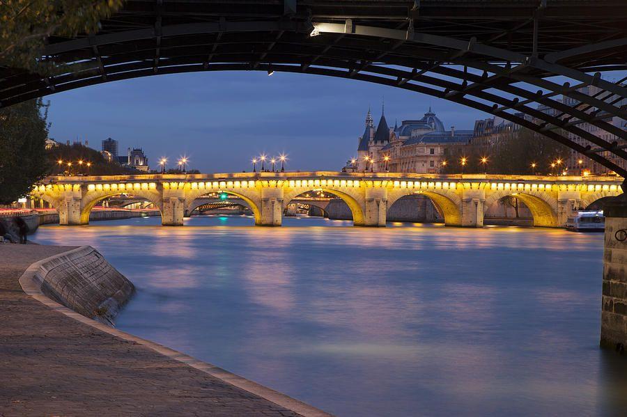 River Seine - Paris Photograph by Brian Jannsen
