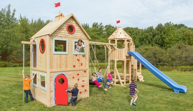 Cedarworks Children S Playhouse 985 Was Designed To Capture All