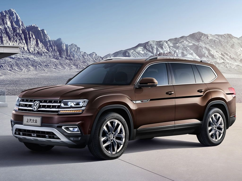 Vw Teramont Atlas For China Revealed Auto Volkswagen
