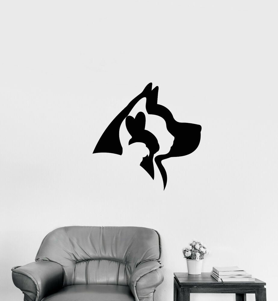 Details About Vinyl Wall Decal Pet Shop Home Animals Logo Veterinary Clinic Stickers 3798ig In 2020 Animal Logo Pet Shop Logo Pet Shop