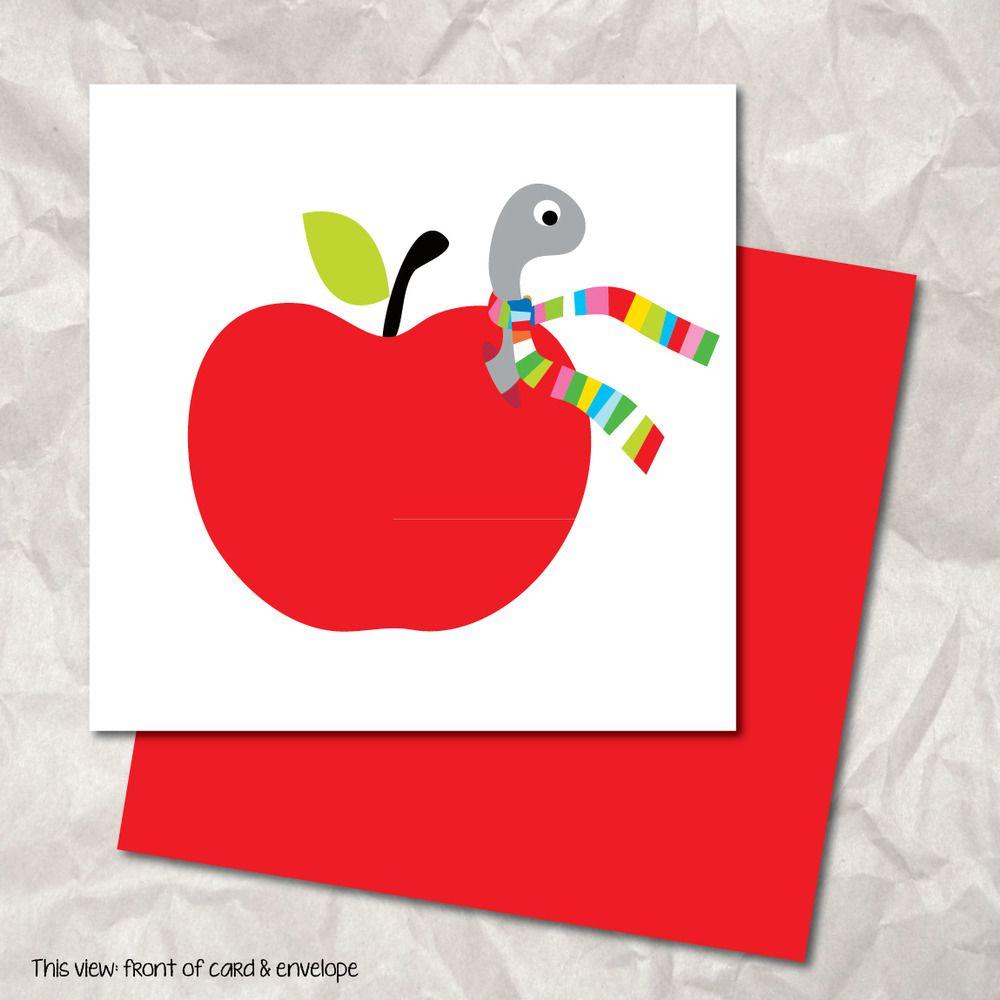 Apple Greeting Card Blaysgalleri Cards By Josephine Blay