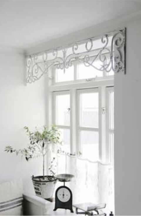 Lovely Unique Kitchen Window Treatments