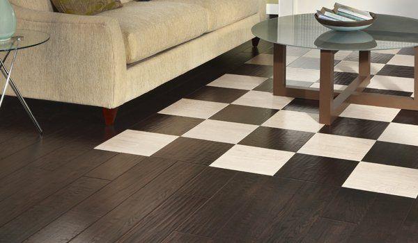 Hardwood Flooring By Mannington Checkered Wood Floor We Just Love
