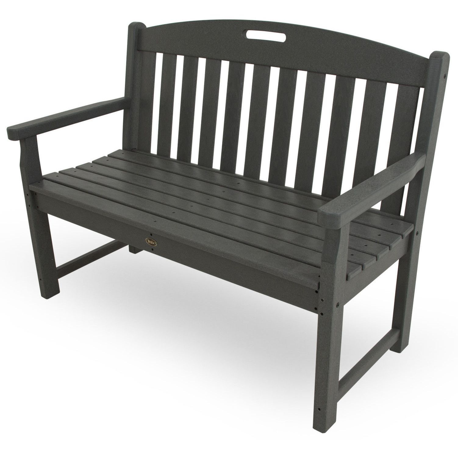 Trex outdoor furniture yacht club 48 bench