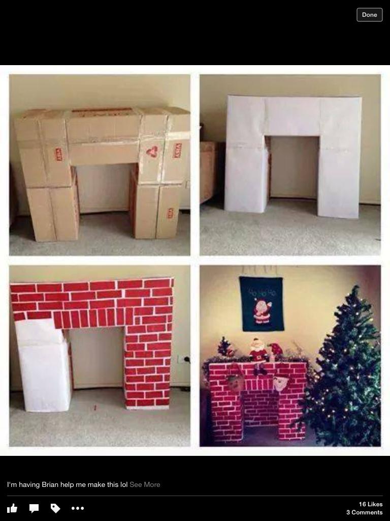 Cardboard Craft Boxes To Decorate Pinamanda Joels On Holiday Decorating  Pinterest  Holiday