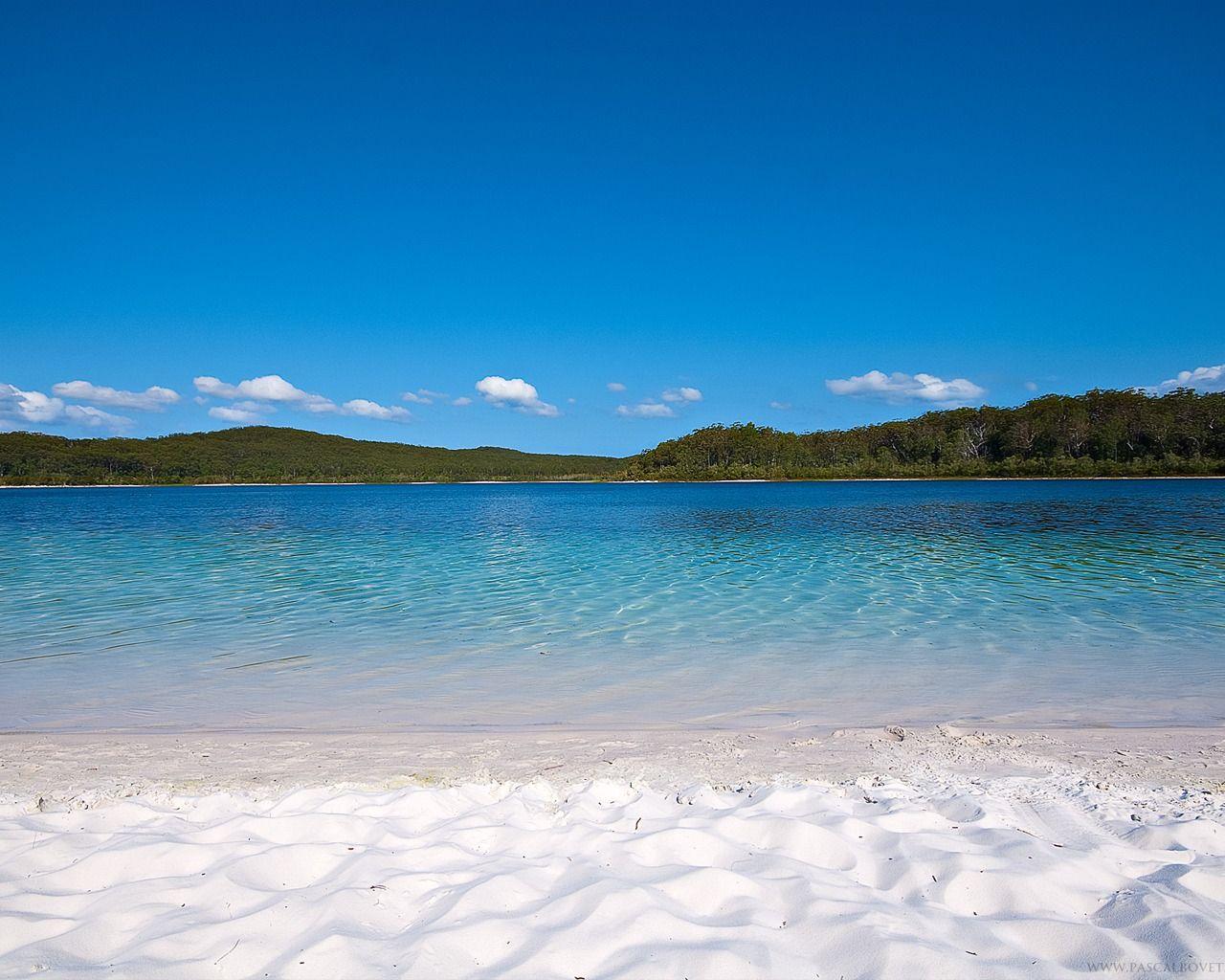 most peaceful place on earth <3 mckenzie lake, fraser island, au