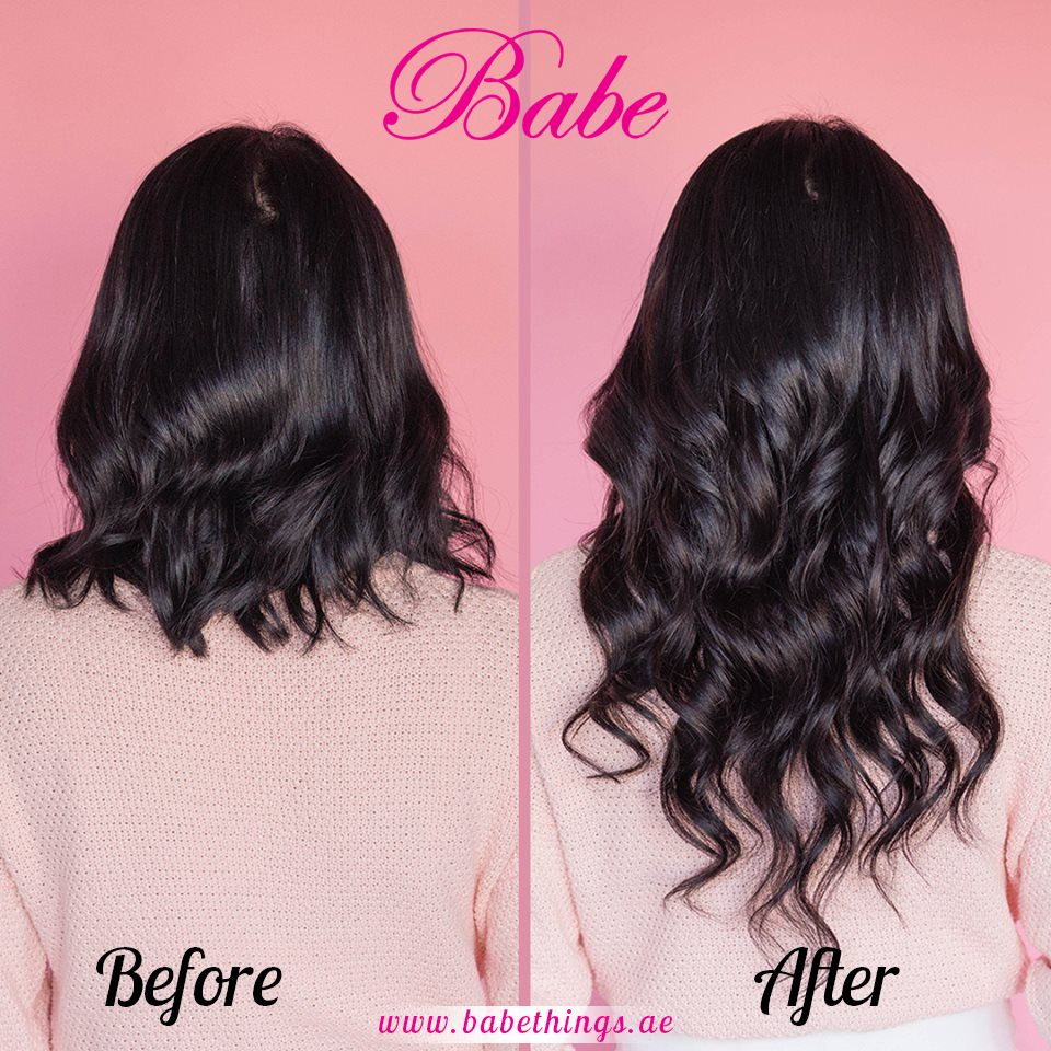 Amazing Transformation With Babe Tape In Hair Extensions Long