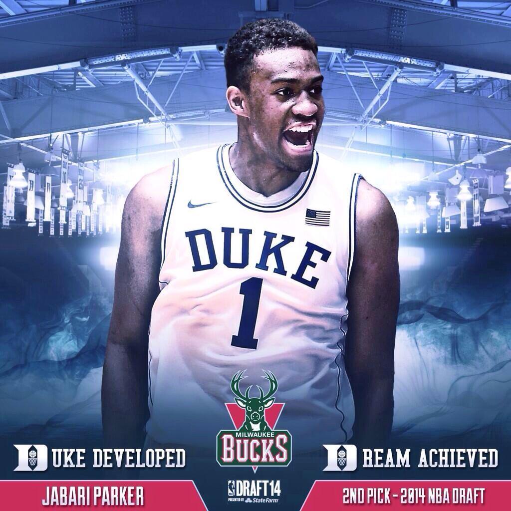 Jabari Parker Jabari parker, Duke basketball, Nba draft