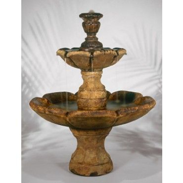 Finial Outdoor Water Fountain