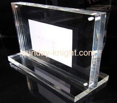 Wholesale acrylic photo picture frame acrylic cube photo frame ...