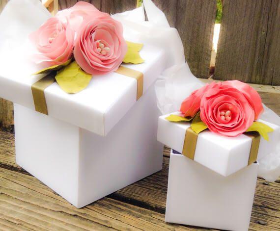 hermossimas ideas en cajas de regalos para bodas de ensueo